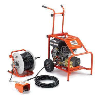 RIDGID 37413 - KJ-3100 Gas Powered Water Jetter Cap. 2-10in
