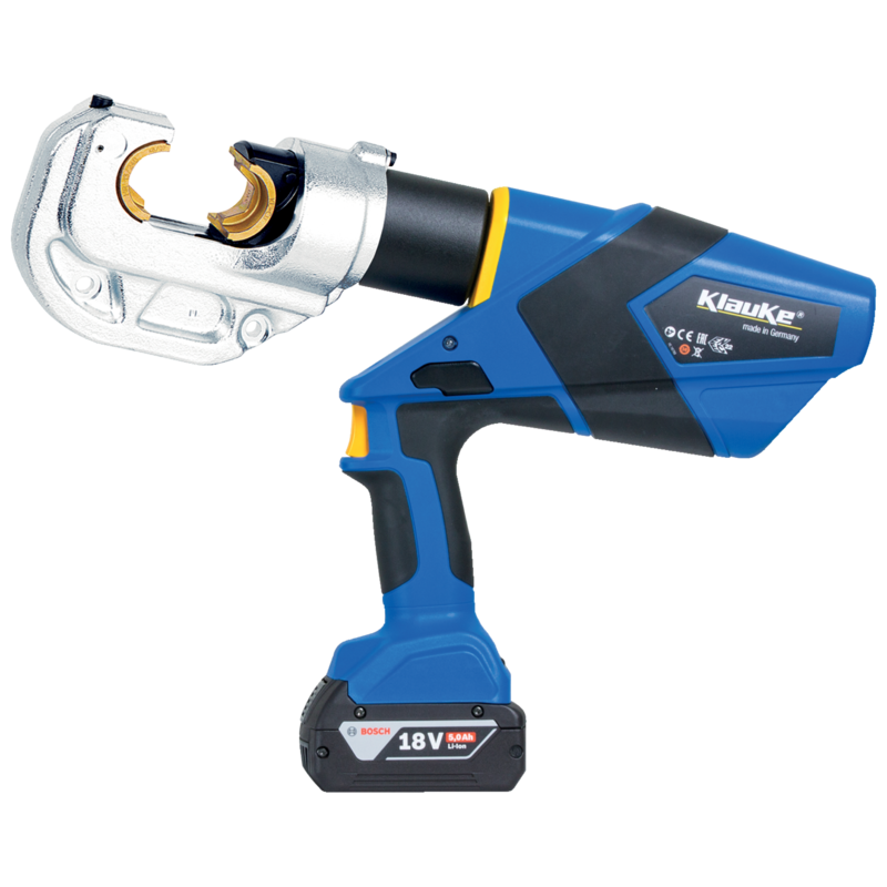 KLAUKE 120/42 Battery Powered Hydraulic Crimping tool in Dubai,UAE - EK12042CFM from AABTools