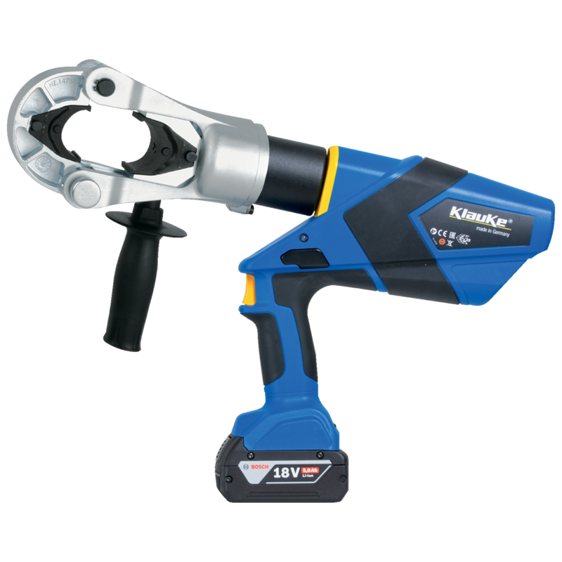 KLAUKE CRIMPING TOOL, ULTRA BATTERY POWERED MONITORING, C/W DIES in Dubai,UAE - EK135FTLSETL from AABTools