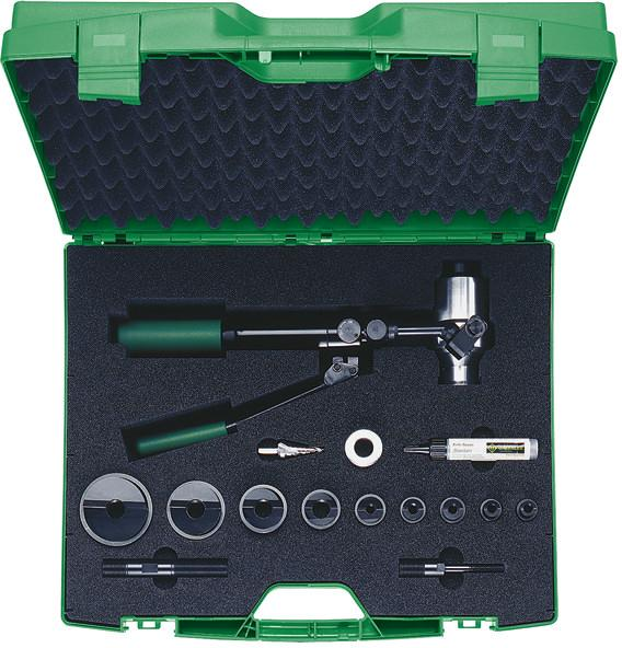 Klauke 50356143SET - Slug Buster® hand hydraulic punch driver set ISO 16 – 40