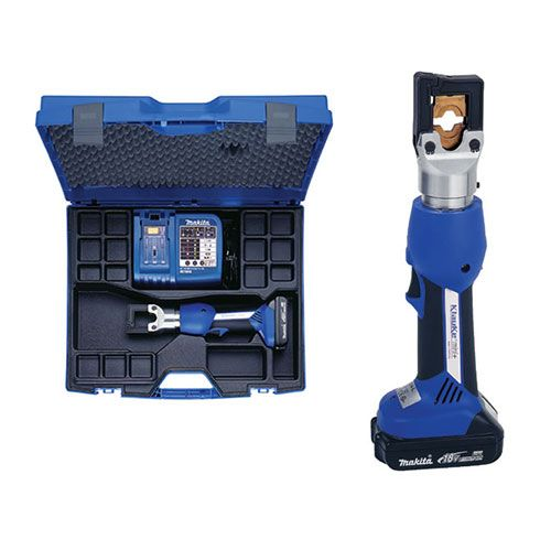 Klauke_Cordless Hydraulic Crimpers EK354MLSETHL_Battery Powered Crimping Tool