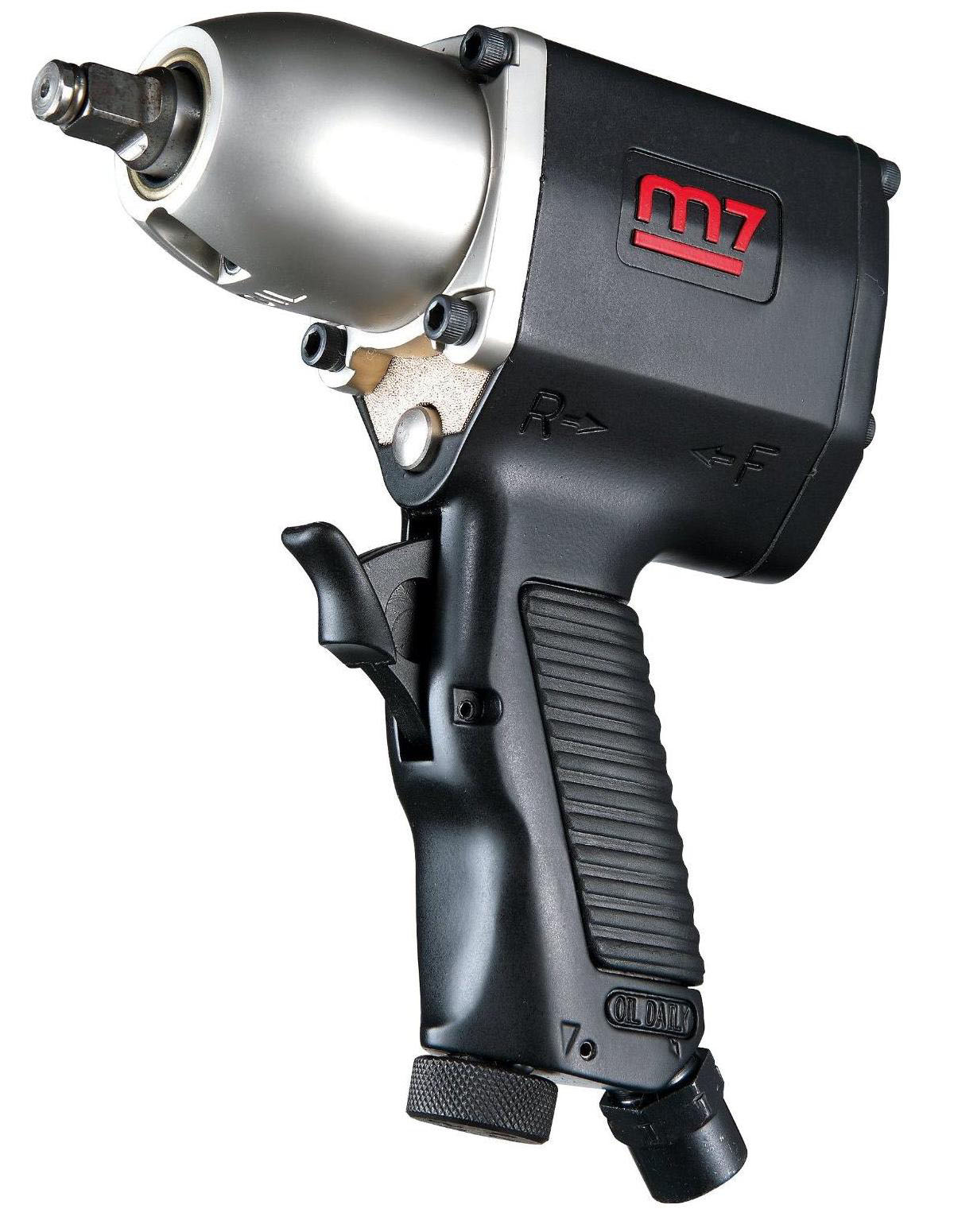 MIGHTY SEVEN NC-3111 - 3/8in Drive Air Impact Wrench; 160 FT-LB Max Torque