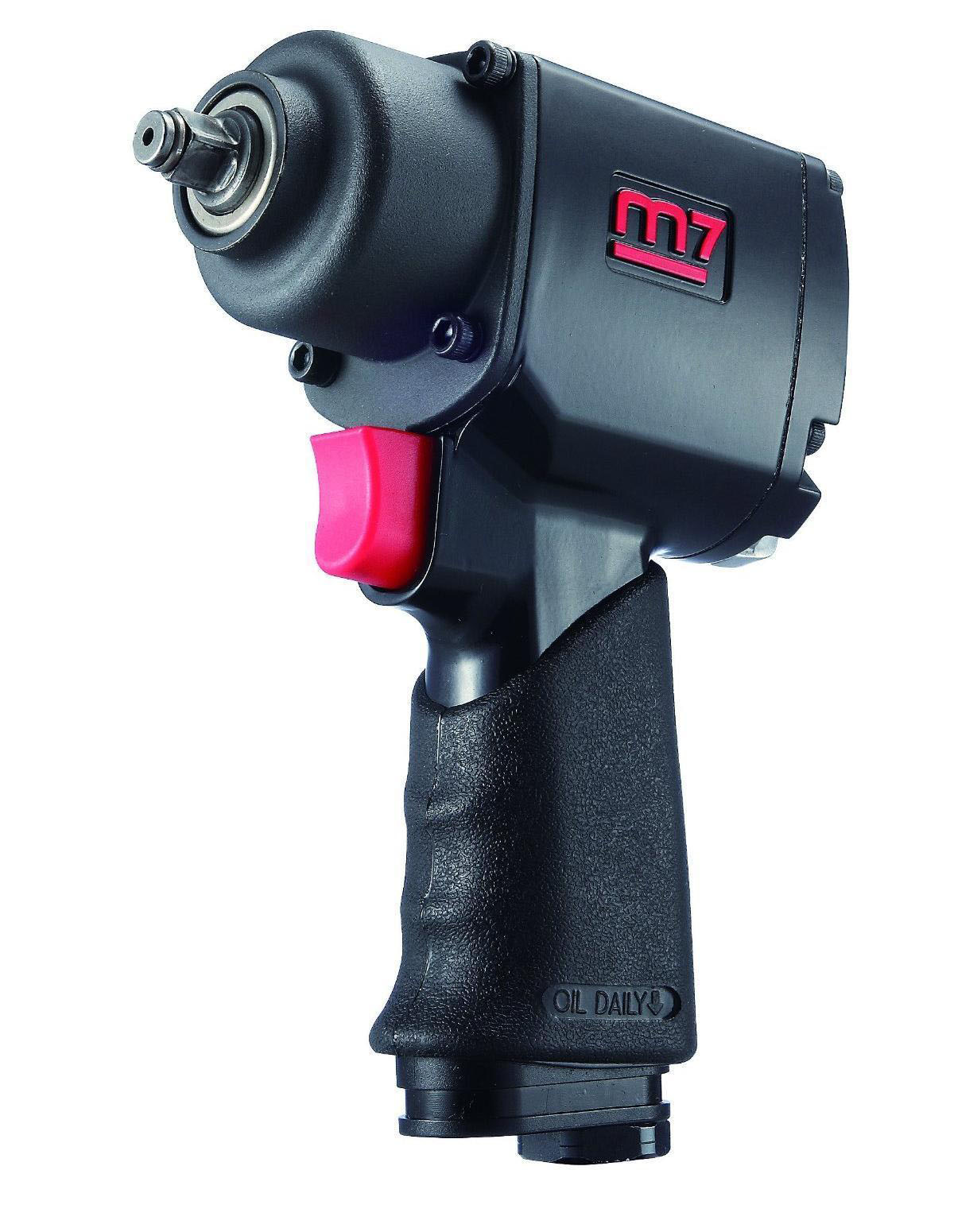 MIGHTY SEVEN NC-4210 - 1/2in Drive Air Impact Wrench; 400 FT-LB Max Torque