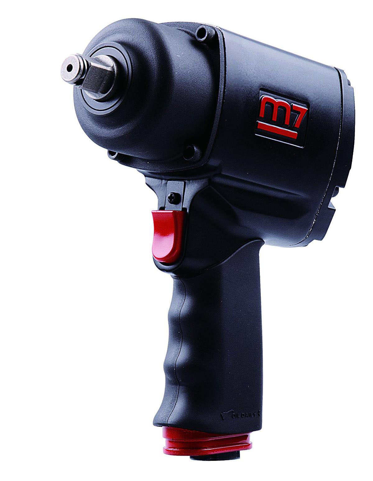 MIGHTY SEVEN NC-4236 - 1/2in Drive Air Impact Wrench; 1000 FT-LB Max Torque