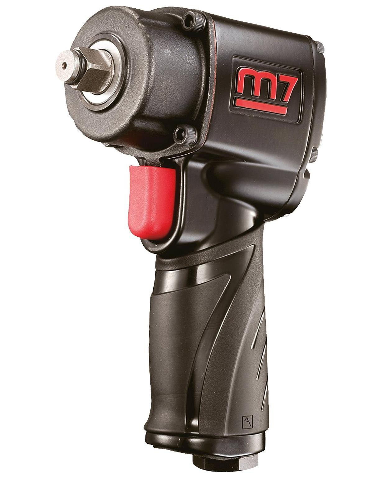 MIGHTY SEVEN NC-4610 - 1/2in Drive Air Impact Wrench; 450 FT-LB Max Torque