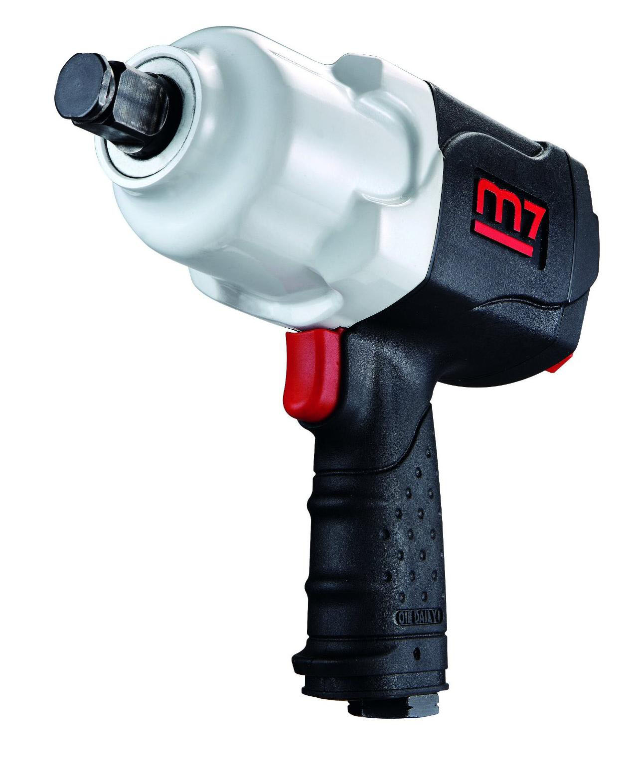 MIGHTY SEVEN NC-6216 - 3/4in Air Drive Impact Wrench; 1200 FT-LB Max Torque