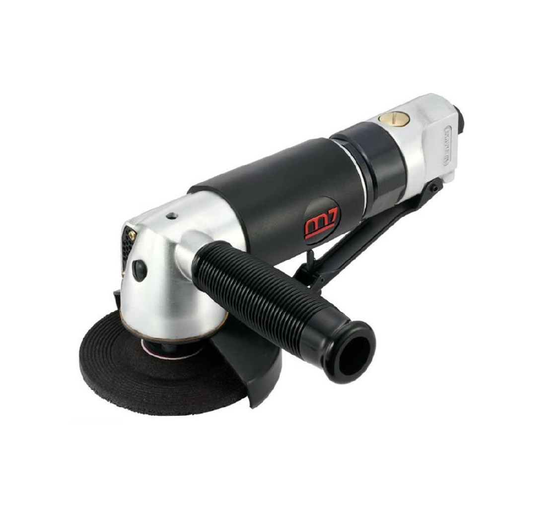 MIGHTY SEVEN QB-114 - 4-inch Air Angle Grinder;  Lever Type Throttle