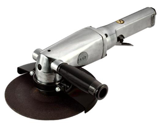 MIGHTY SEVEN QB-117 - 7-inch Air Angle Grinder;  Lever Type Throttle