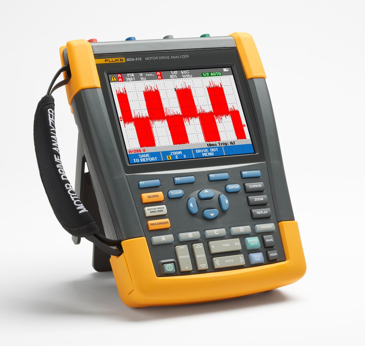 FLUKE MDA-510 - Motor Drive Analyzer 510, 4-channel color