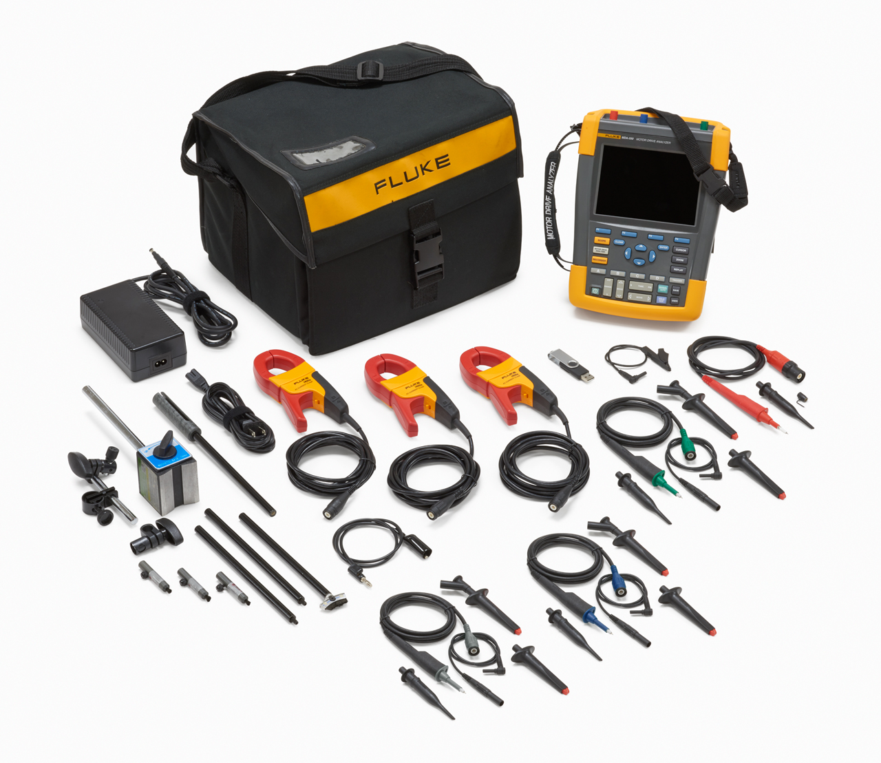 FLUKE MDA-550 - Motor Drive Analyzer 550, 4-channel color, PRO