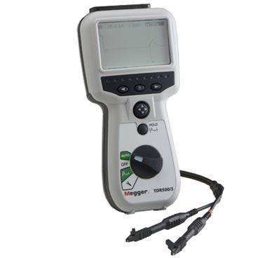 MEGGER TDR500/3 - Handheld TDR – 10 m, 25 m, 100 m, 250 m, 1000 m, 2500 m, 5000 m