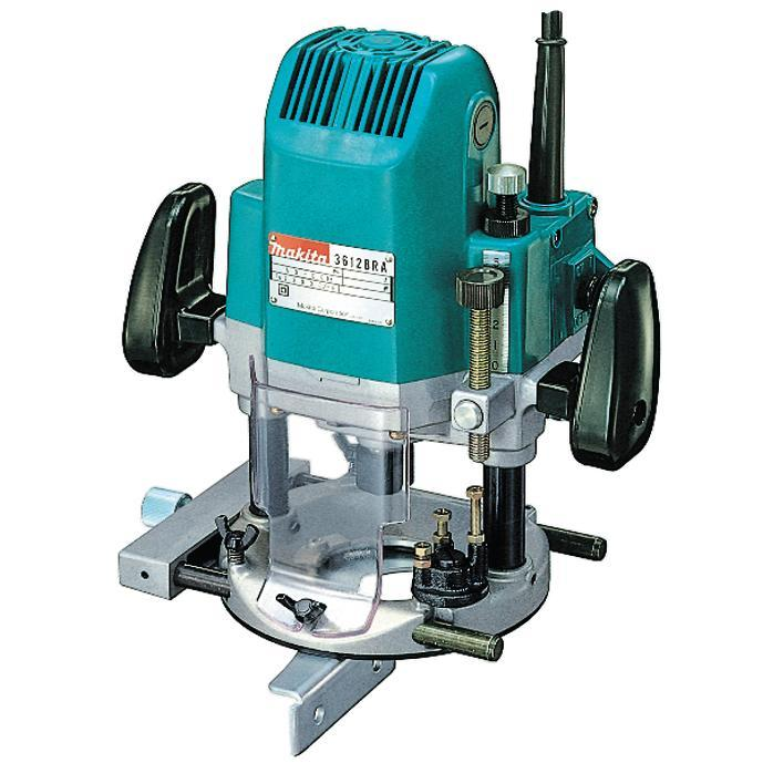 Makita 3612BR - ROUTER 1600W, 1/2″ – (12 mm)