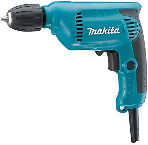 Makita 6413 - Brass Key less Rotary Drill 450W, 3/8″ – (10 mm)