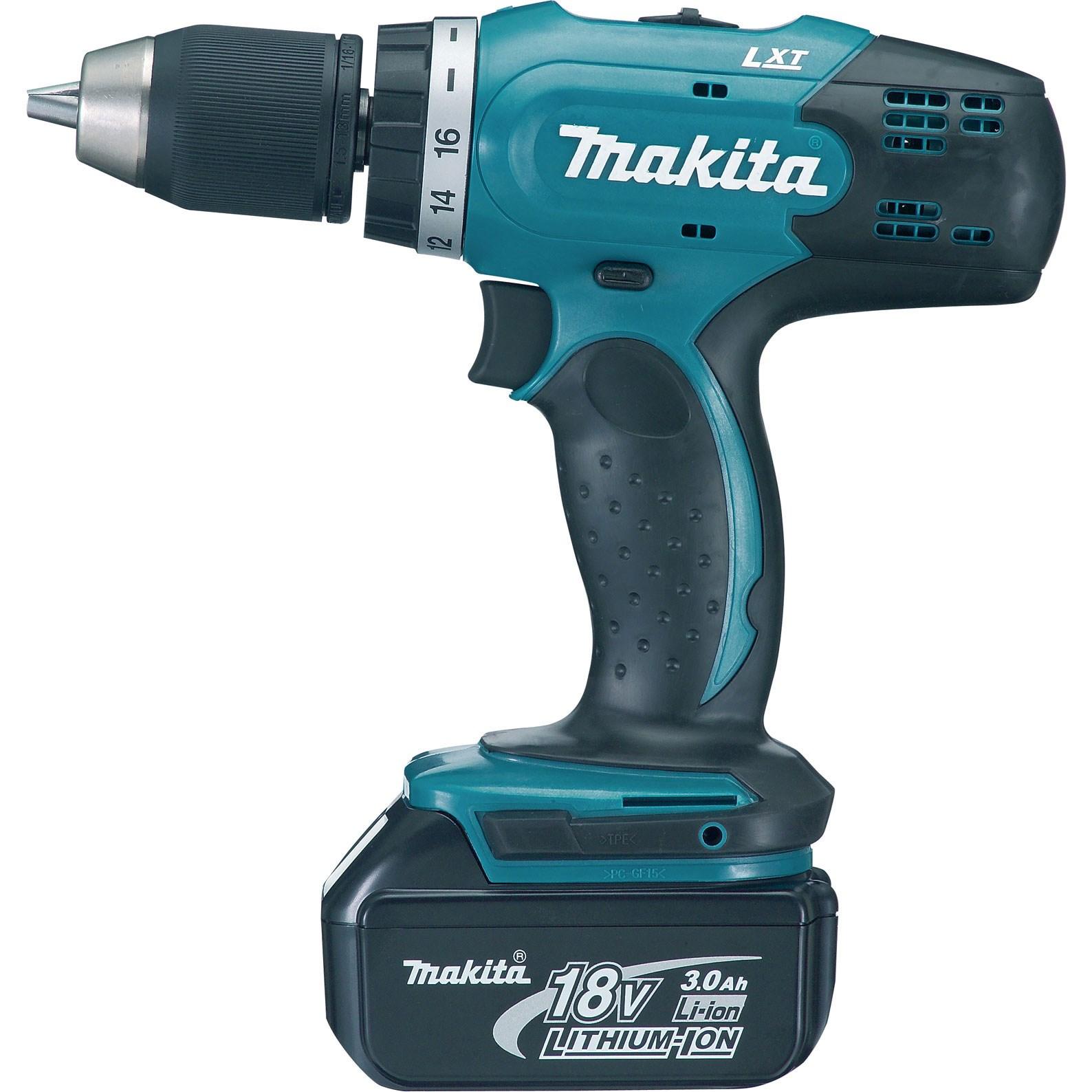 Makita DDF453ST - LXT Cordless Drill Driver – 18 V Li-ion, (13 mm)