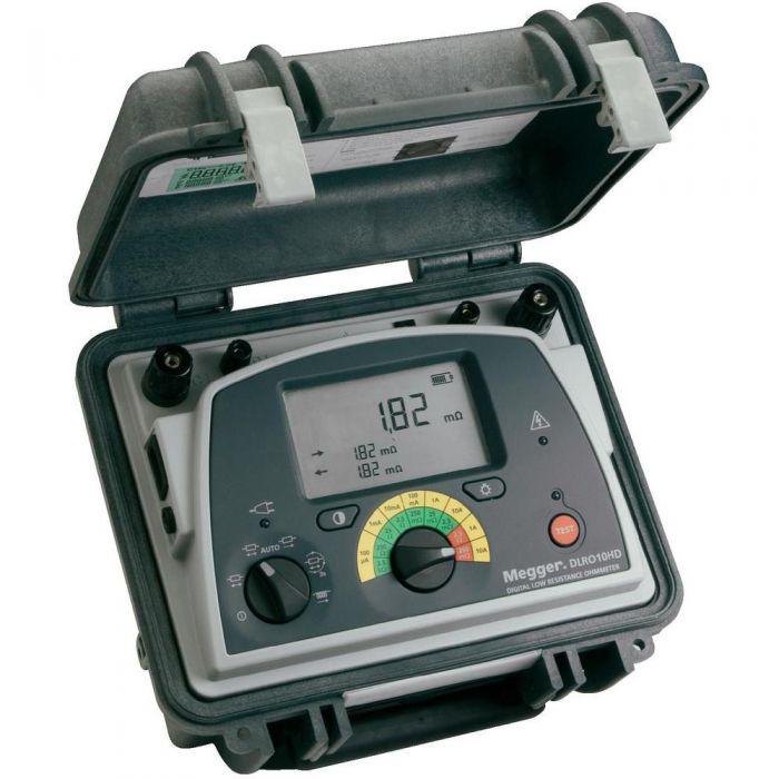 MEGGER DLRO10HD - Dual Power 10A Low Resistance Ohmeter