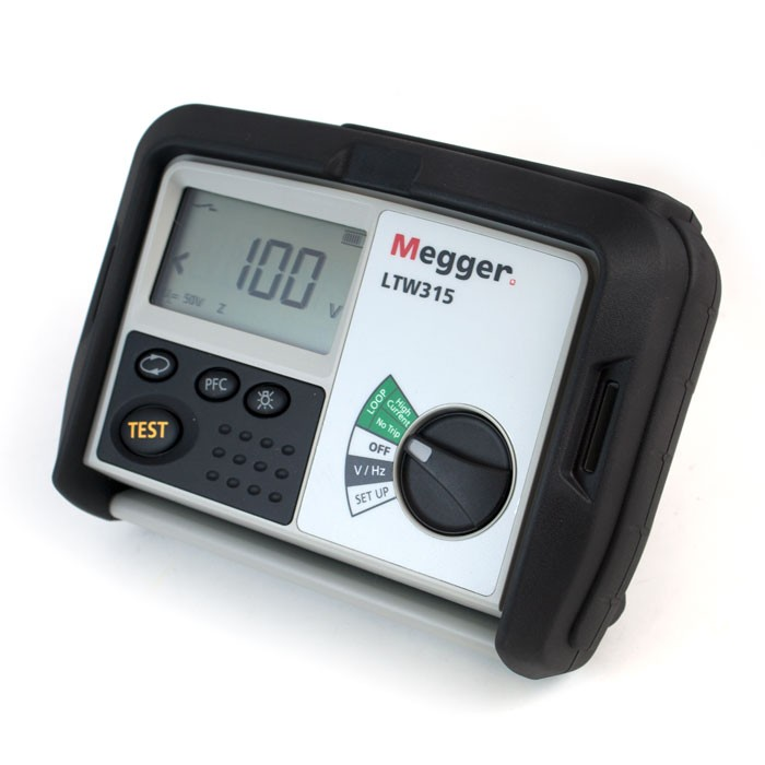 MEGGER LTW315  - 2 Wire loop impedance testers 110 V to 280 V applications