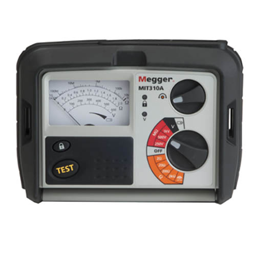 MEGGER MIT310A - Analog 1000V insulation and continuity testers