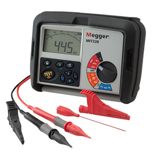Megger_MIT330_Digital Insulation Tester