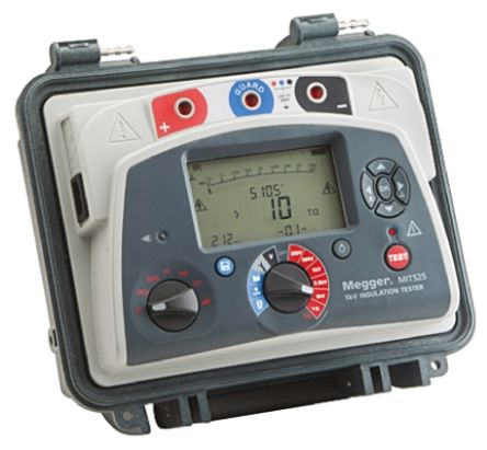 MEGGER MIT525 - 5 KV DIAGNOSTIC INSULATION RESISTANCE TESTER