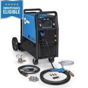 Miller MATIC 255 - MIG/Pulsed MIG Welder w/ EZ-Latch™ Running Gear- 208/240V