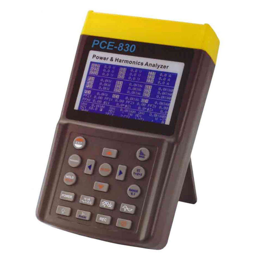 PCE_Three-Phase Power Analyzer_830-3_2 - Three-Phase Power Analyzer