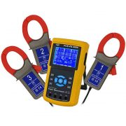 PCE Instruments PA 8000 - Three-Phase Power Analyzer with 3 Current Clamp