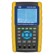 PCE Instruments PA 8300 - Three-Phase Power Analyzer with 3 Current Clamps