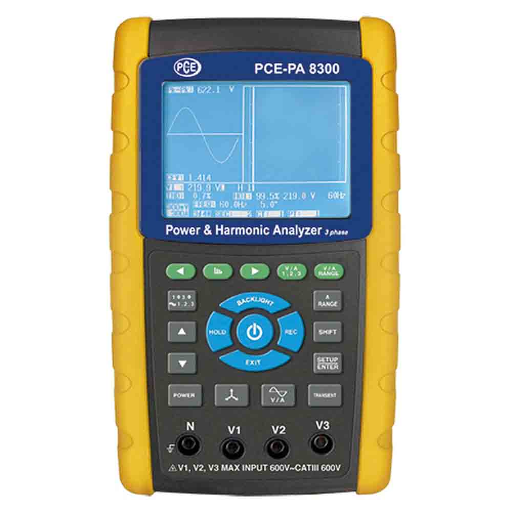 PCE_Three Phase Power Analyzer_PA 8300_1