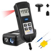 PCE Instruments T 260 - Combination Tachometer with Infrared