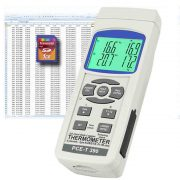 PCE Instruments T390 - 4-Channel Digital Thermometer -100 to 1370°C (-148 to 2498°F)