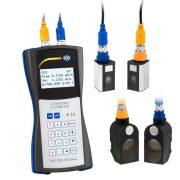 PCE Instruments TDS 100HSH - Ultrasonic Flow Meter Kit 32 m/s, 105 ft/s