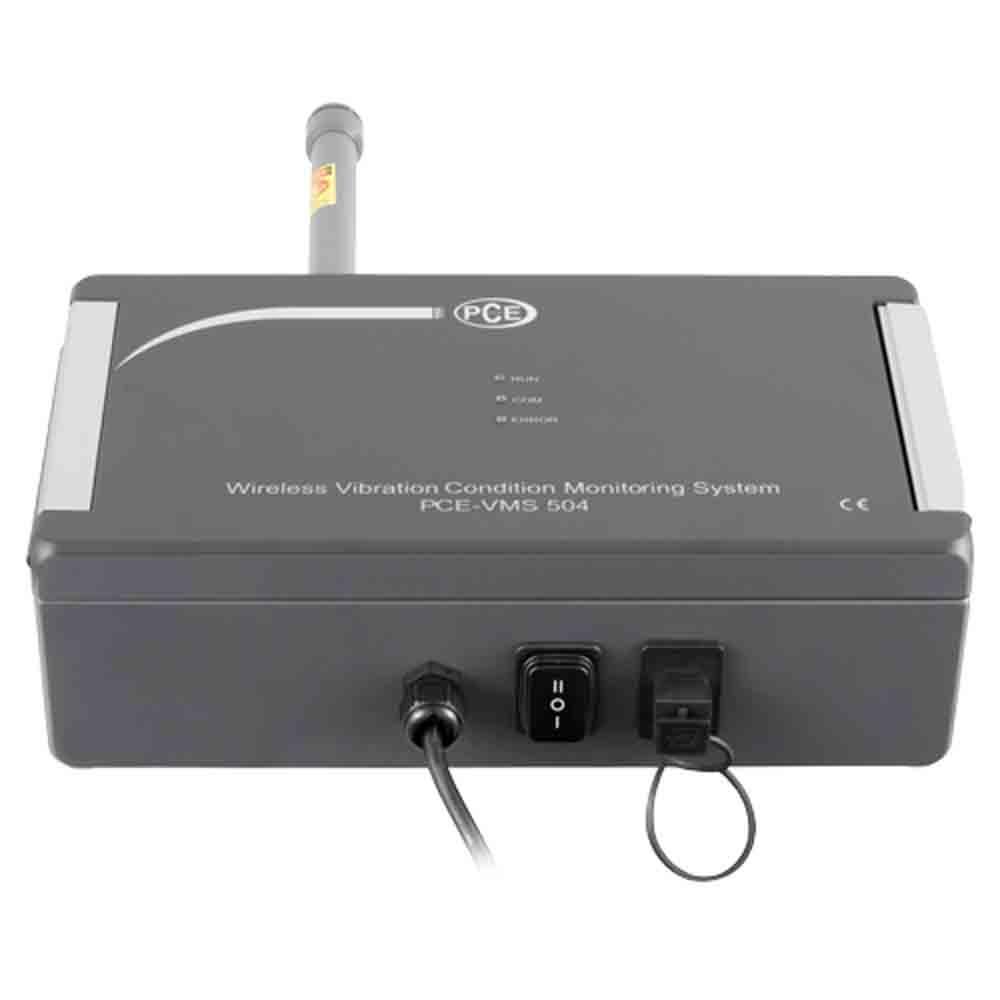 PCE_Vibration Analyzer_VMS 504_2 - Vibration Analyzer 5 Hz to 10 kHz