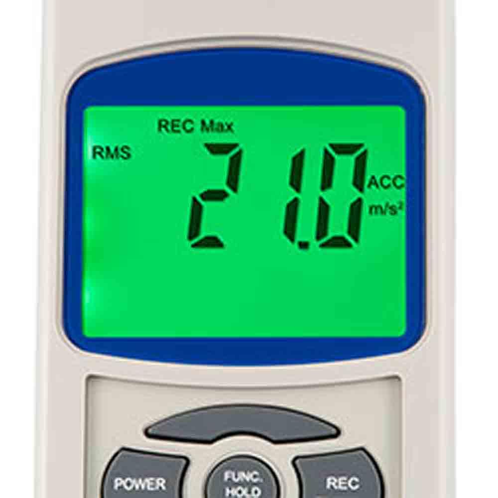 PCE_Vibration Analyzer_VT 2800_2 - Vibration Analyzer 10 Hz to 1 KHz