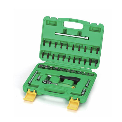 SK-TS41 - Multi-Drive Socket Sets/ Hand Socket Set 41 Pcs; 1/4″