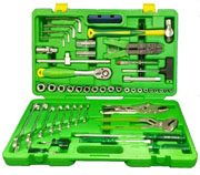 TK-100MT - Mechanics Tool Set  Combination of 1/4″ – 1/2″ 100pcs