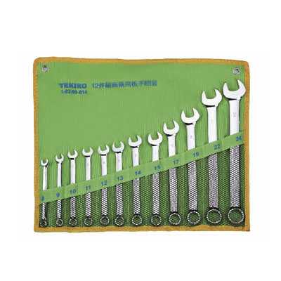 EXPERT W-B12SM - Box End Wrench Set; 12pcs – 6×7 to 30×32