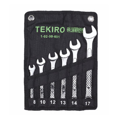 TEKIRO W-E06SM - Star Wrench Set 6 Pcs