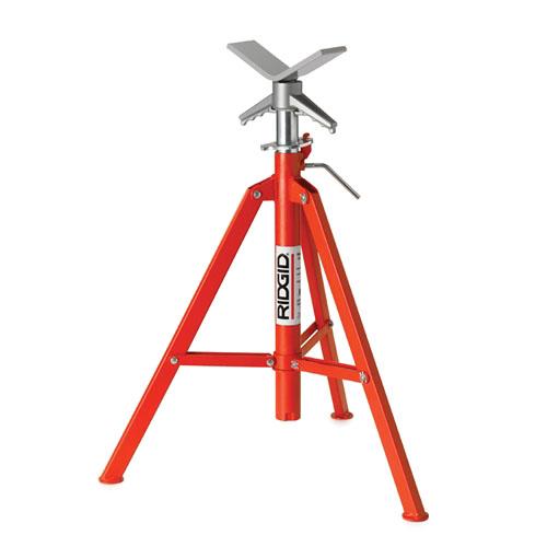 RIDGID 22168 - VJ-99 V Head Pipe Stand Fold-Legs