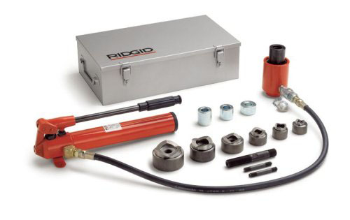 RIDGID 24587 - HKO-1810 Hydraulic Knockout Set 1/2-4 In