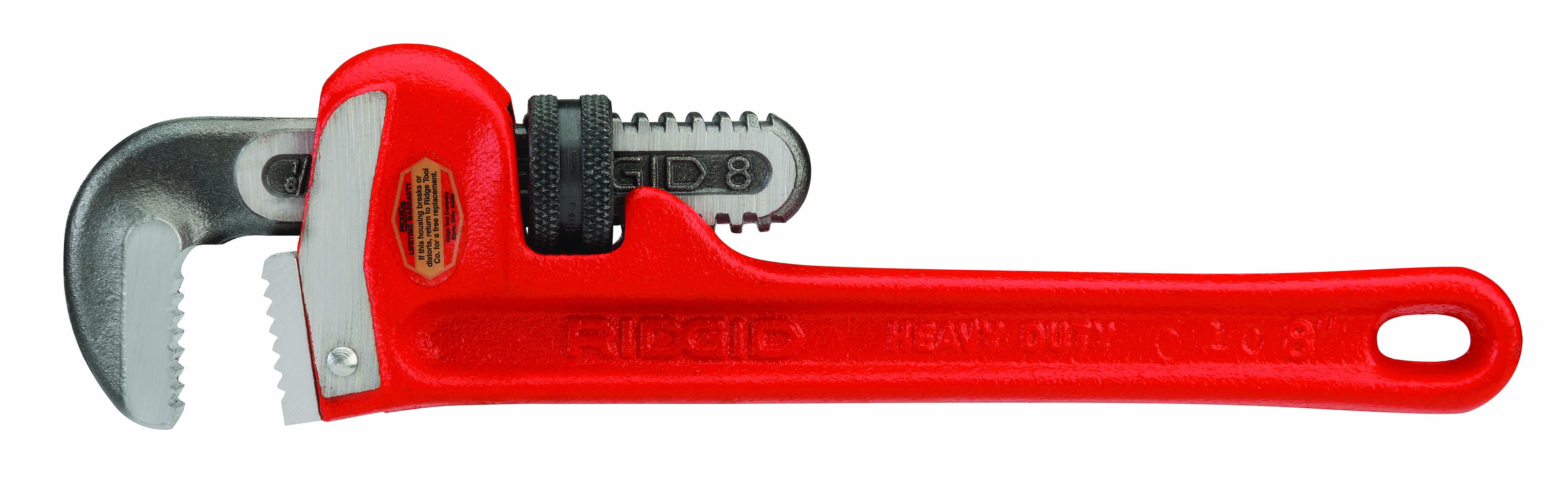 RIDGID 31005 - Heavy Duty Pipe Wrench  8-inch