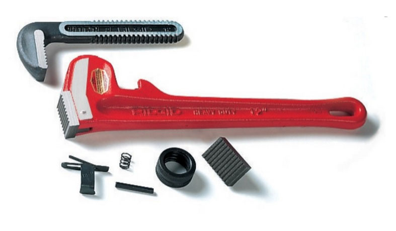 RIDGID 31750 - Pipe Wrench Replacment 48-inch Heel Jaw & Pin Assembly
