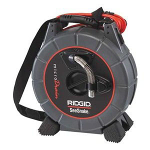 RIDGID 33103 - D30 MicroDrain Inspection System 1-3in pipe -30ft