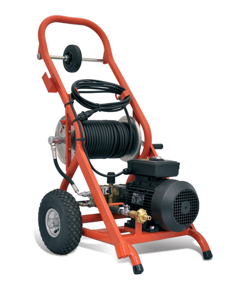 KJ-1590 II Electric Water Jetter Cap. 2-6 in  230v