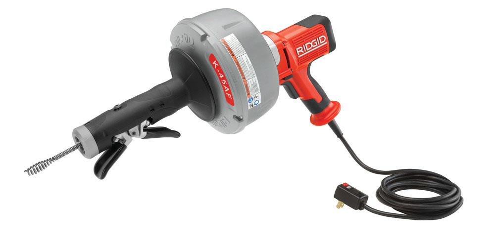 RIDGID 36038 - K-45AF-1 Drain Cleaner W/Autofeed 3/4  2-1/2in 230v