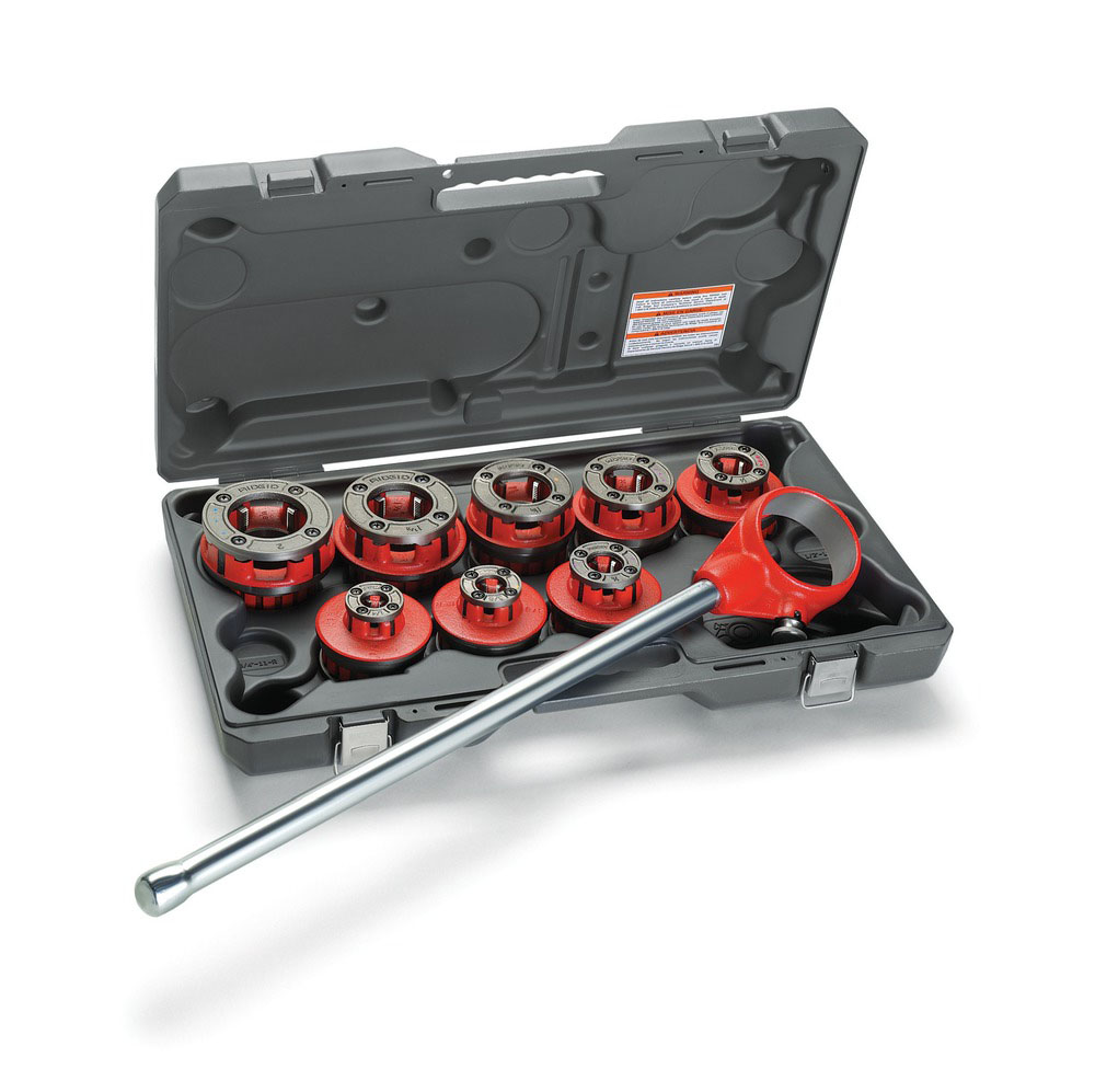 RIDGID 13088 - Ratchet Threader Sets BSPT – 1/2 to 2inch