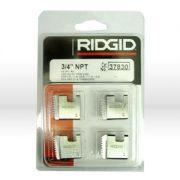 RIDGID 37830 - Pipe Die Set Npt – 3/4inch