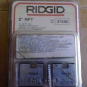RIDGID 37850 - Pipe Die Set Npt – 2inch