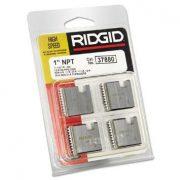 RIDGID 37880 - Pipe Die Set HSS Npt – 1inch