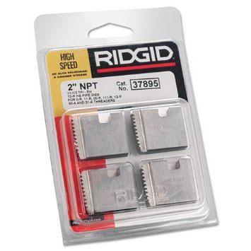 RIDGID 37895 - Pipe Die Set HSS Npt – 2inch