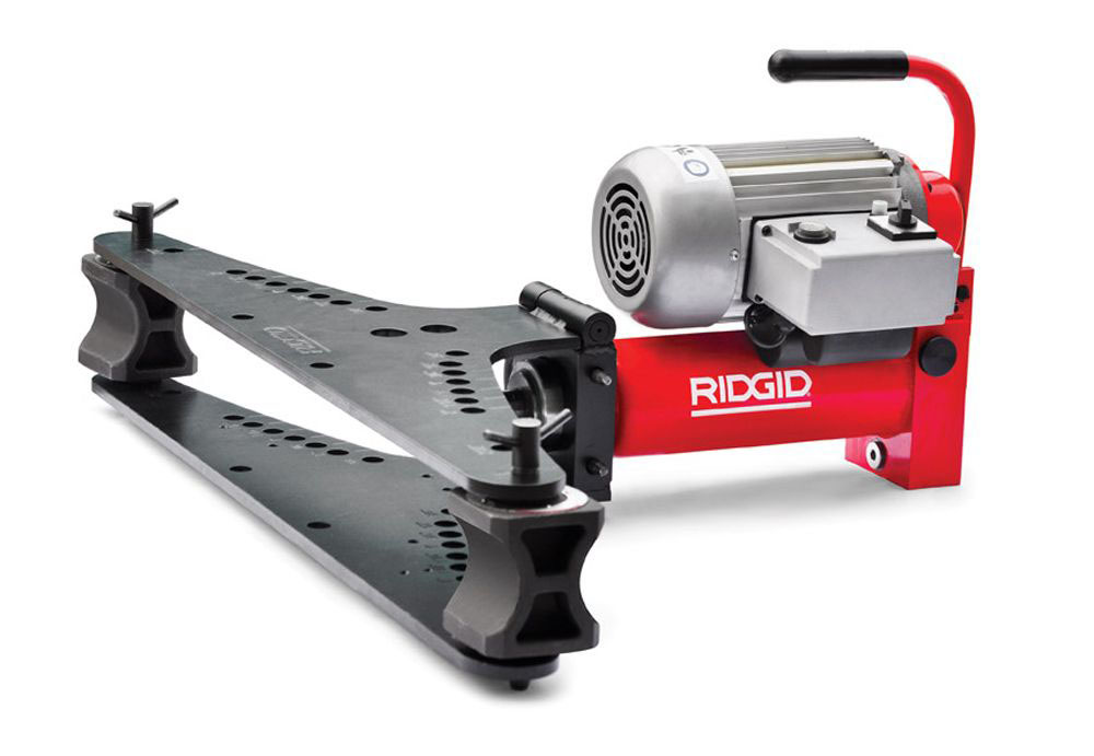 RIDGID 14941 - 3814E Electro-Hydraulic Pipe Bender 3/8in to 4in 400V